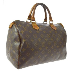 Louis Vuitton Monogram Speedy 30 Boston MM 860687