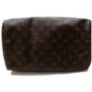 Louis Vuitton Monogram Speedy 30 Boston MM 861028