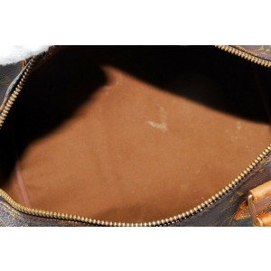 Louis Vuitton Monogram Speedy 30 Boston MM 859029