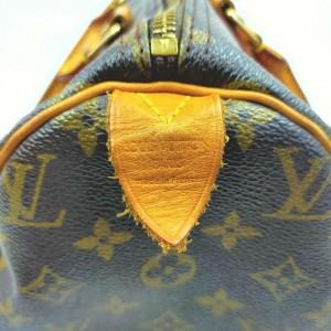 Louis Vuitton Monogram Speedy 30 Boston MM 861282