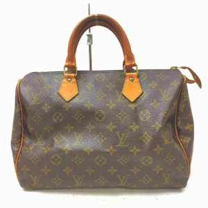 Louis Vuitton Monogram Speedy 30 Boston MM  861290