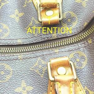 Louis Vuitton Monogram Speedy 30 Boston MM 861550