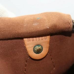 Louis Vuitton Monogram Speedy 40 Boston GM Bag 862516