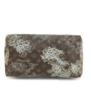 Louis Vuitton Monogram Dentelle Speedy 30 Limited Lace 860182