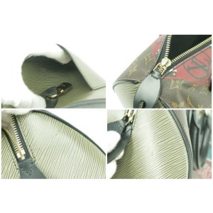 Louis Vuitton Monogram Kabuki Speedy 30 9LK1230