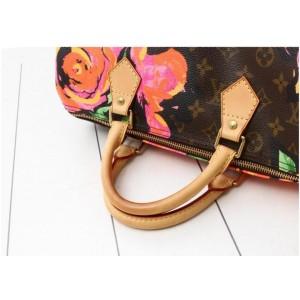 Louis Vuitton Stephen Sprouse Monogram Roses Speedy 30 860773