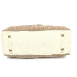 Louis Vuitton Brown Monogram Mini Lin Trapeze GM Speedy 861739