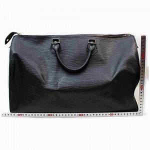 Louis Vuitton Black Epi Leather Noir Speedy 40 GM Large XL 856262