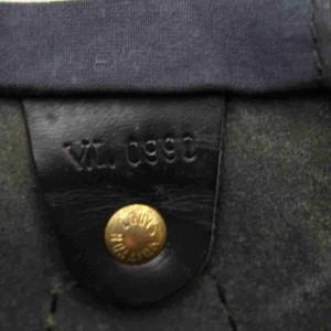 Louis Vuitton Black Epi Noir Speedy 40 GM Large XL 860262