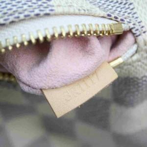 Louis Vuitton Damier Azur Sperone BB Mini Backpack Bookbag 860309