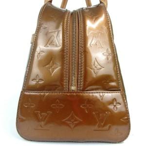 Louis Vuitton Bronze Copper Monogram Vernis Tompkins Boston 872756