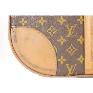 Louis Vuitton Rare 1970's Monogram Stratos 80 Trunk Case Travel Steamer 403lvs226