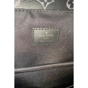 Louis Vuitton Rare Limited Black Monogram Eclipse Steamer Backpack  860897