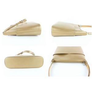 Louis Vuitton Sutter Ambre Monogram Mat 15lz1113 Gold Patent Leather Shoulder Bag