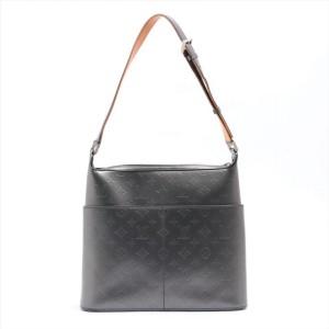 Louis Vuitton Charcoal Monogram Vernis Mat Sutter 861480