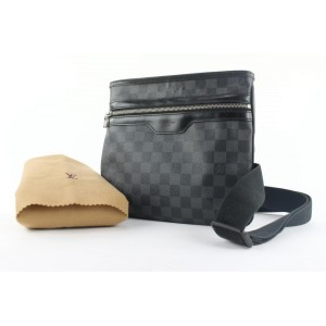 Louis Vuitton Damier Graphite Thomas Crossbody Bag 119lvs429