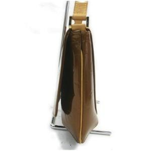 Louis Vuitton Bronze Monogram Vernis Thompson Street Musette Copper Flat 860970