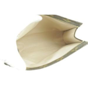 Louis Vuitton Toiletry Pouch Poche Monogram 19 Toilette 14lk1226 Brown Coated Canvas Wristlet