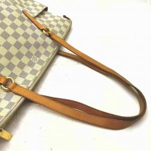 Louis Vuitton Damier Azur Totally MM Zip Tote 861504