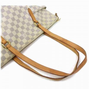 Louis Vuitton Damier Azur Totally MM Zip Tote 860060
