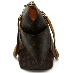 Louis Vuitton Monogram Totally MM Zip Tote 860489