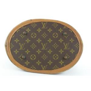 Louis Vuitton Monogram Marais Bucket GM Tote Bag 663lvs317