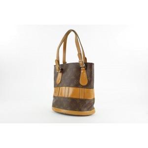 Louis Vuitton Monogram Marais Petit Bucket Tote Bag 9LVS129