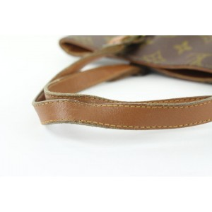 Louis Vuitton Monogram Marais Bucket GM Tote Bag 175lvs53