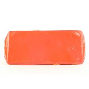 Louis Vuitton Rob Wilson Orange Monogram Vernis Fluo Neon Reade PM Tote Bag 4lvlm39