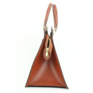Louis Vuitton Brown Epi Leather Riviera Vanity Tote Bag 862842
