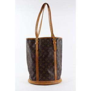 Louis Vuitton Monogram Marais Bucket GM Tote Bag 2LVS1218