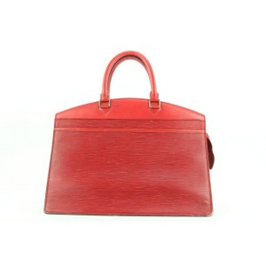 Louis Vuitton Red Epi Leather Riviera Vanity Tote Bag 862837