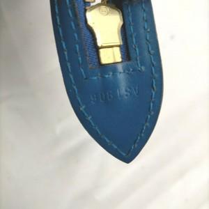 Louis Vuitton Blue Epi Leather Saint Jacques Zip Tote Bag 862716