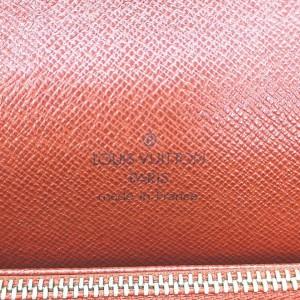 Louis Vuitton Damier Ebene Tribeca Carre Flap Bag 861318