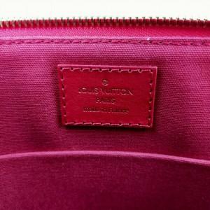 Louis Vuitton Ultra Rare Red Damier Couleurs Kit Clutch Carmine 863277