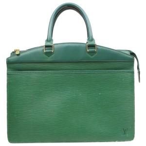 Louis Vuitton Green Epi Borneo Riviera Vanity Case 869967