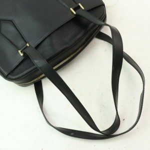 Louis Vuitton Voltaire Black Epi Noir 856556