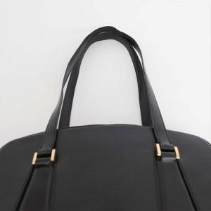 Louis Vuitton Voltaire Noir Zip Tote 228883 Black Epi Leather Shoulder Bag