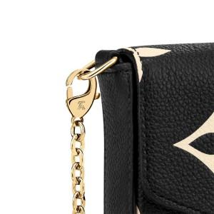 Louis Vuitton Empreinte Leather Crafty Felicie Pochette Wallet on Chain Flap 860706