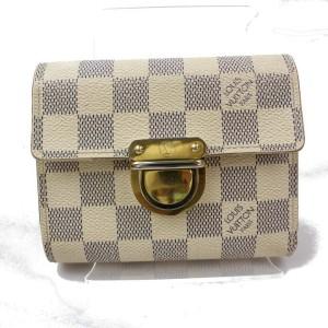 Louis Vuitton Damier Azur Koala Compact Wallet 871090