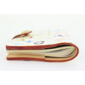 Louis Vuitton Monogram Multicolor Carnet De Bal Mini Agenda Notebook Cover 862612