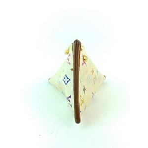 Louis Vuitton Monogram Multicolor Berlingo Coin Pouch Pochette Cles Keychain 2LVA93