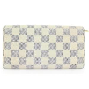 Louis Vuitton Damier Azur Long Sarah Wallet 263lvs216