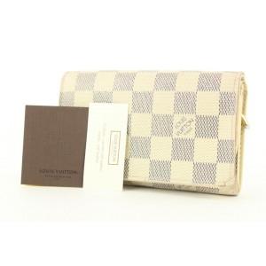 Louis Vuitton Damier Azur Compact Snap Zippy Wallet 201lvs54