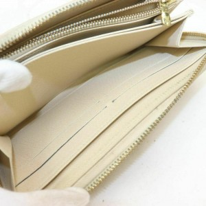 Louis Vuitton Damier Azur Zippy Wallet Long Zip Around 860959