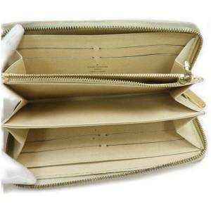 Louis Vuitton Damier Azur Zippy Wallet Long Zip Around 861006