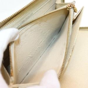 Louis Vuitton Damier Azur Organizer Zippy Wallet Zip Around Long Large 862351