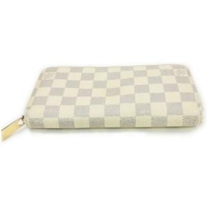 Louis Vuitton Damier Azur Zippy Wallet Zip Around 862194