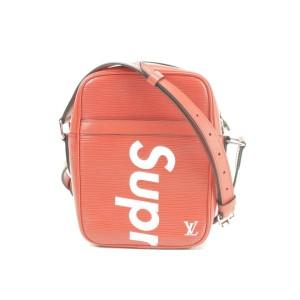 Louis Vuitton x Supreme Red Epi Danube PM 10LK1230