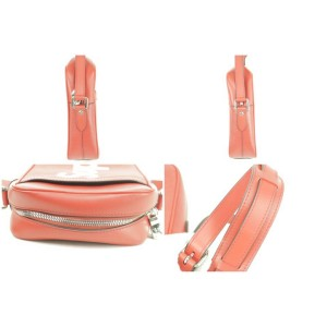 Louis Vuitton x Supreme Danube Pm 10lk1230 Red Epi Leather Cross Body Bag